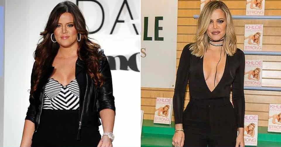 khloe kardashian celeb weight loss