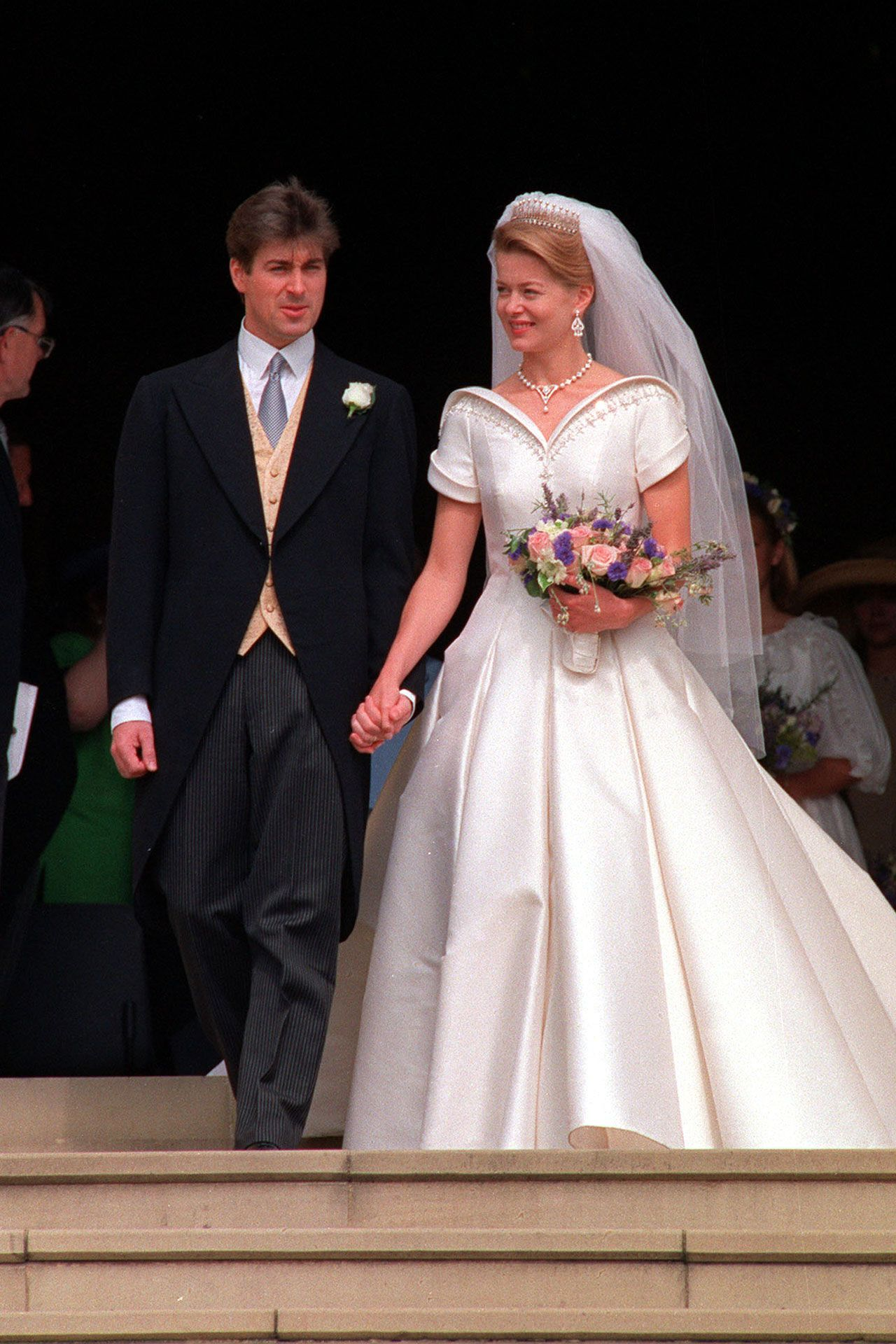 lady helen of windsor royal wedding dresses