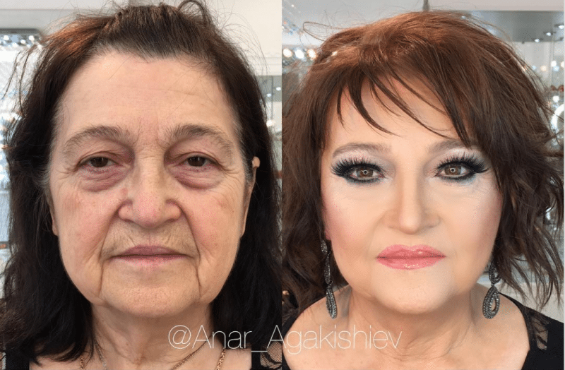 makeup transformations | makeup before and after