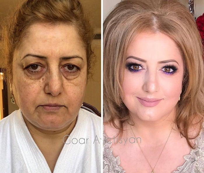 goar avetisyan makeup transformations