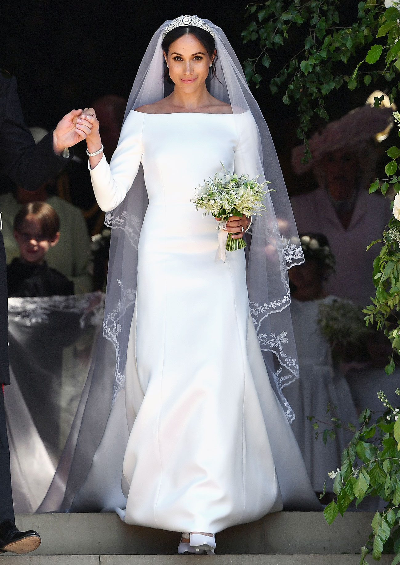 meghan markle royal wedding dresses