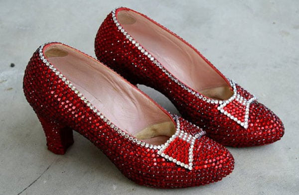 most expensive shoes - harry winston ruby slippers