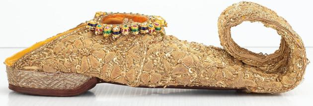 most expensive shoes | Nizam Sikandar Jah ornate slippers