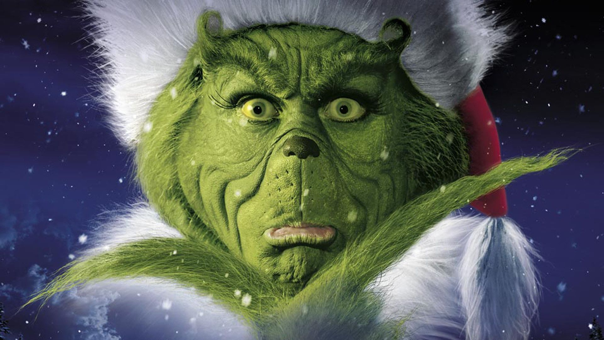 movie makeup the grinch