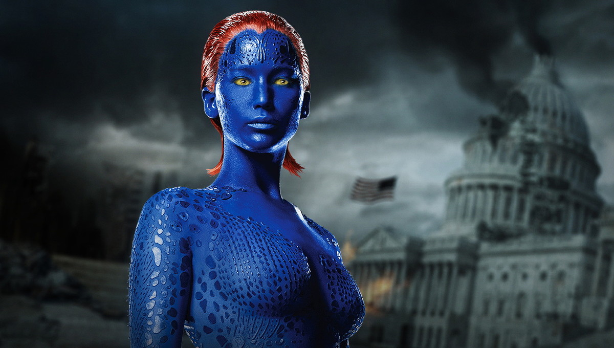 movie makeup mystique