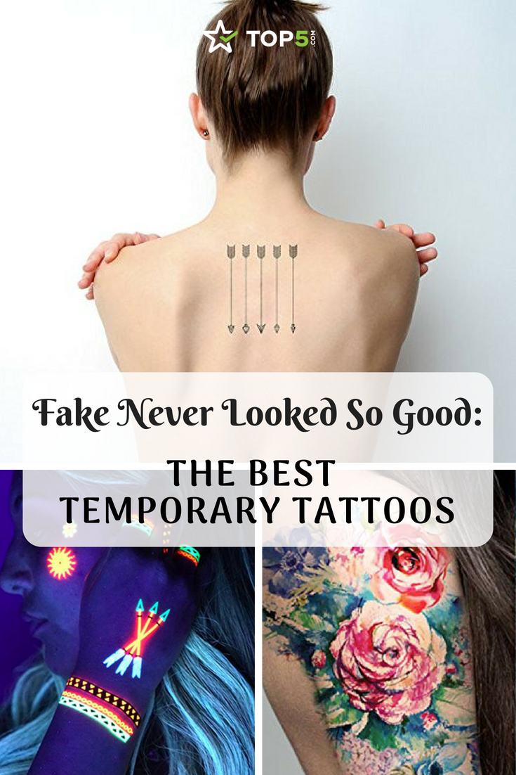 Fake Never Looked So Good: The Best Temporary Tattoos