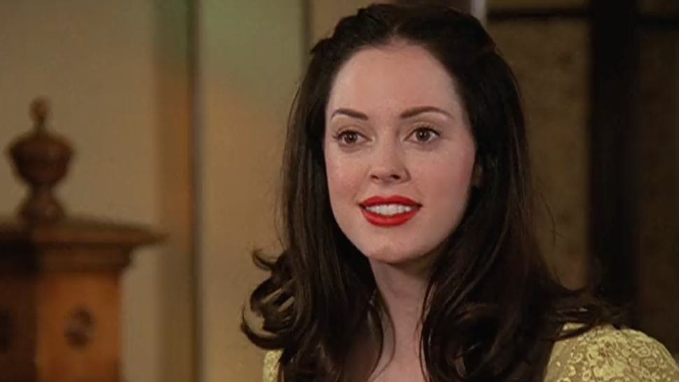 rose mcgowan before