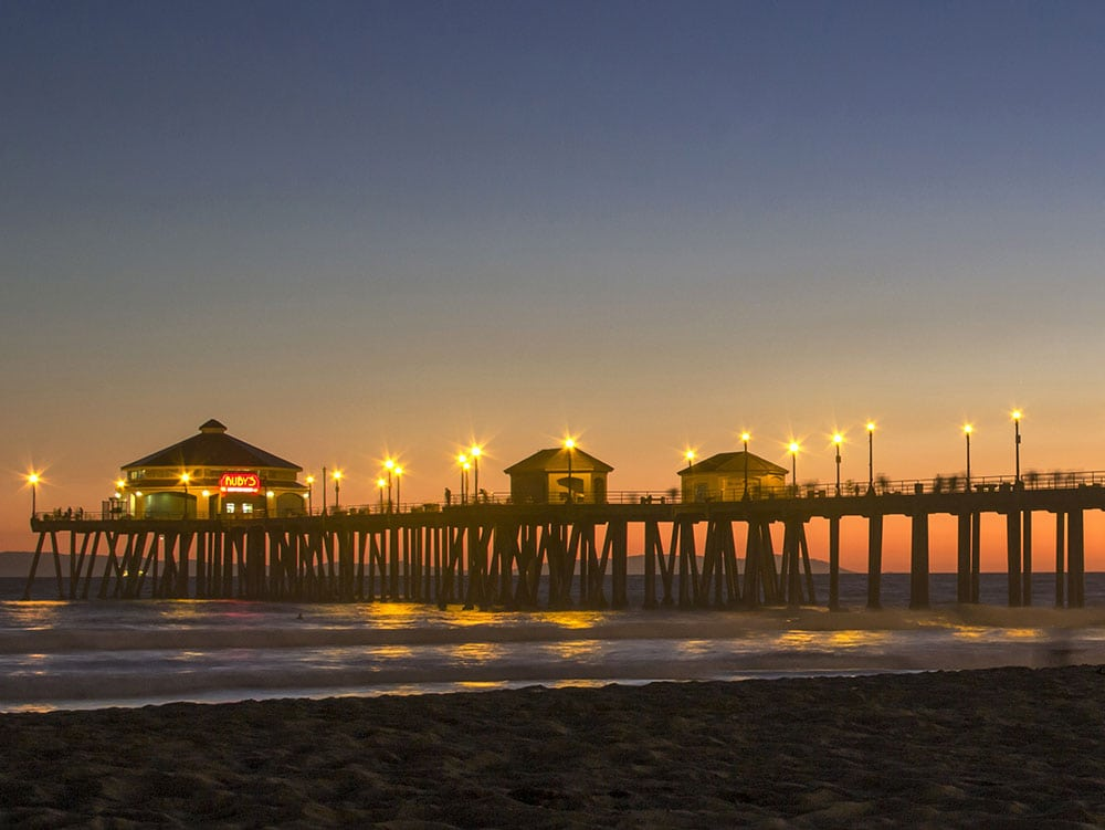 Huntington Beach, California RV Travel