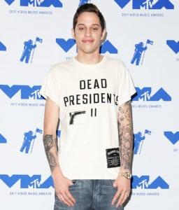 tattooed celebrities Pete Davidson