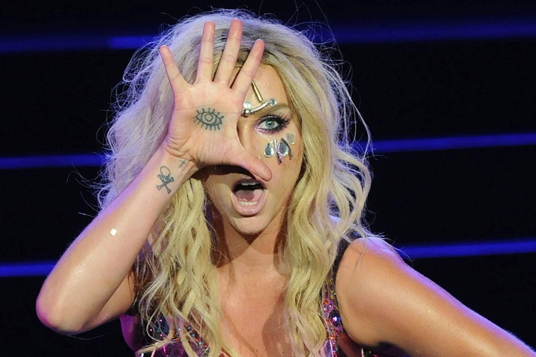Kesha eye tattoo