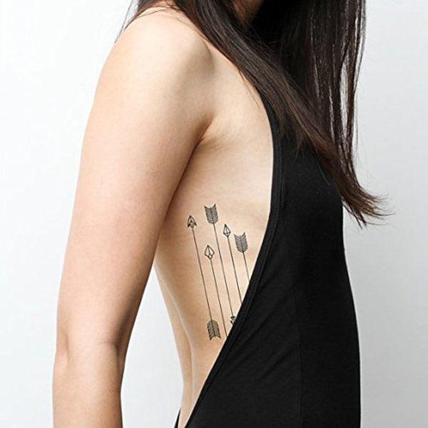 temporary tattoos - minimalist arrows
