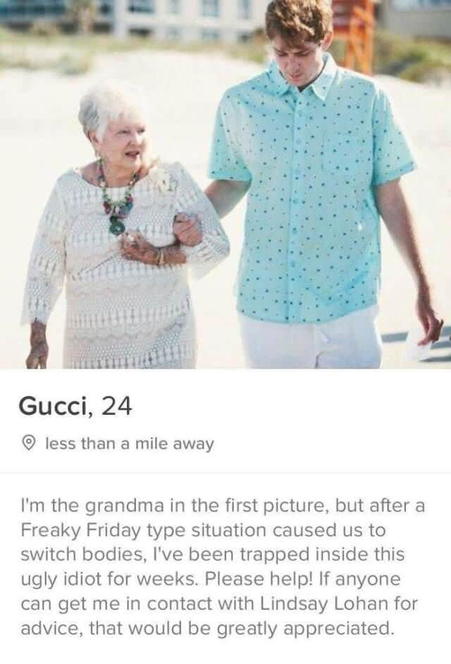 tinder bios grandma