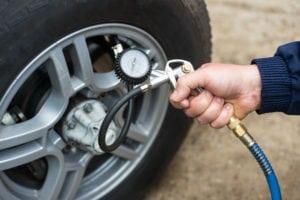 tire maintenance air pressure