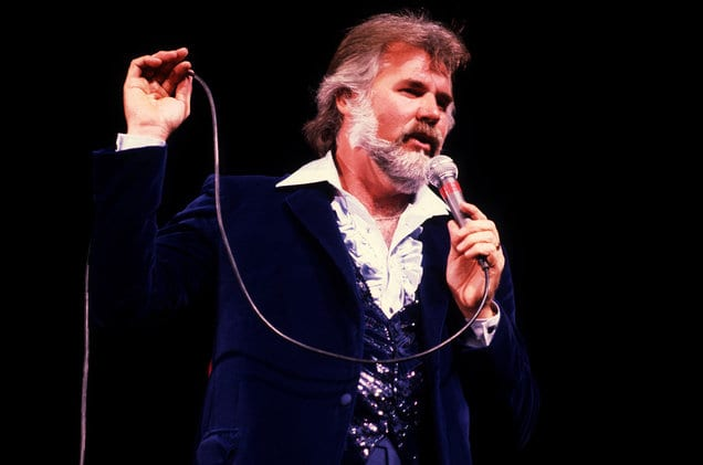unrecognizable famous people kenny rogers before