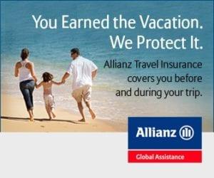 allianz travel insurance beach vacation