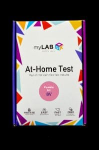at home yeast infection test myLAB box