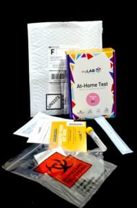 at home yeast infection test lab