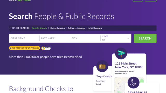 BeenVerified Background Check Review