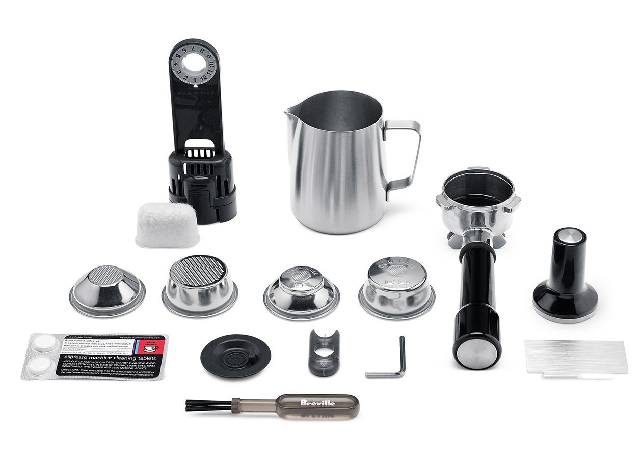 breville barista express espresso machine parts