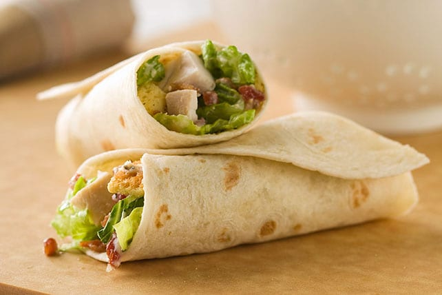 chicken caesar wrap most unhealthy fastfood