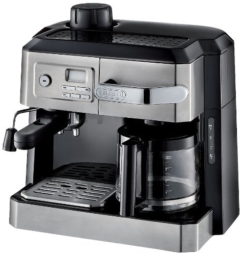 combination drip coffee and espresso machine