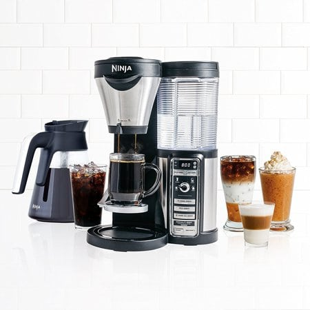 coffee and espresso machine   multi-use bar system
