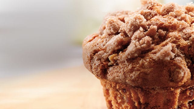 coffee cake muffin most unhealthy fast food