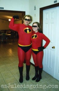 couple halloween costumes - incredibles