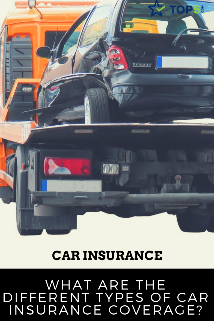 overview of the different types of car insurance coverage
