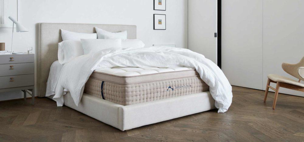 Dreamcloud mattress bedroom