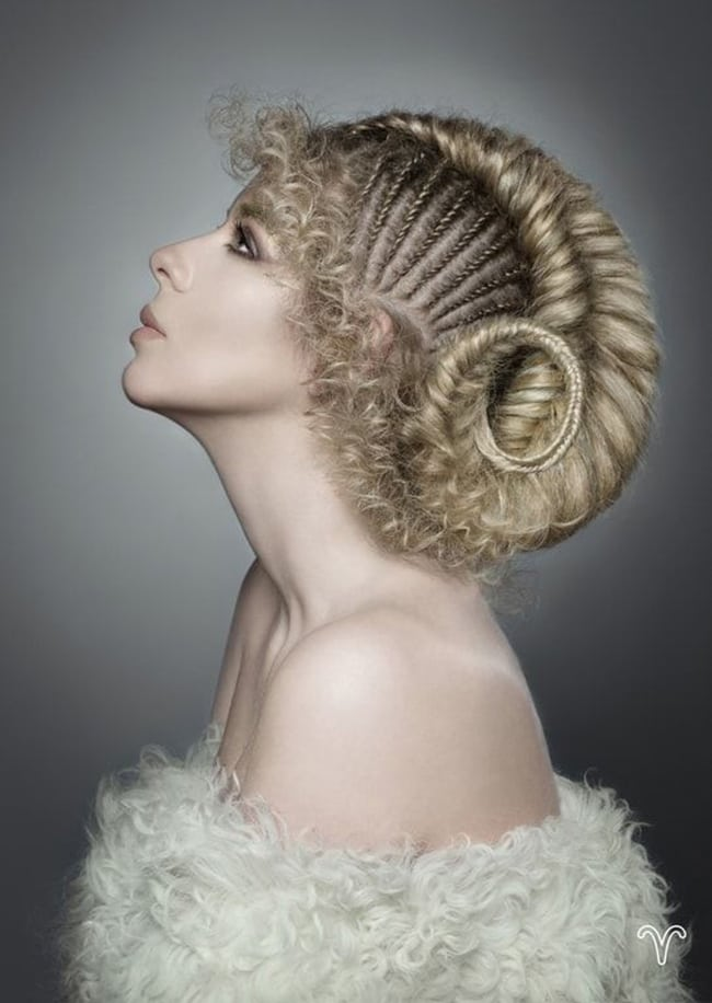 fashion hair art