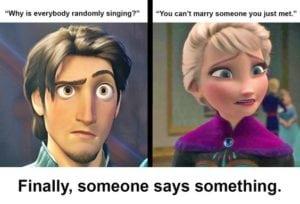 funny disney memes reality check