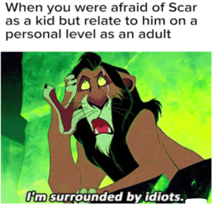 funny disney memes scar