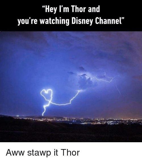 funny disney memes Thor