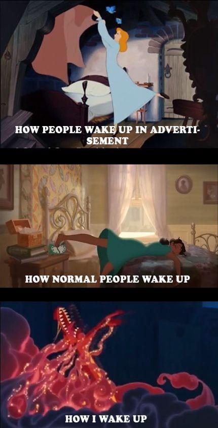 funny disney memes morning