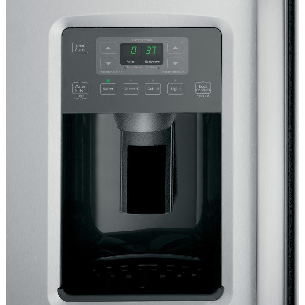ge side-by-side dispenser