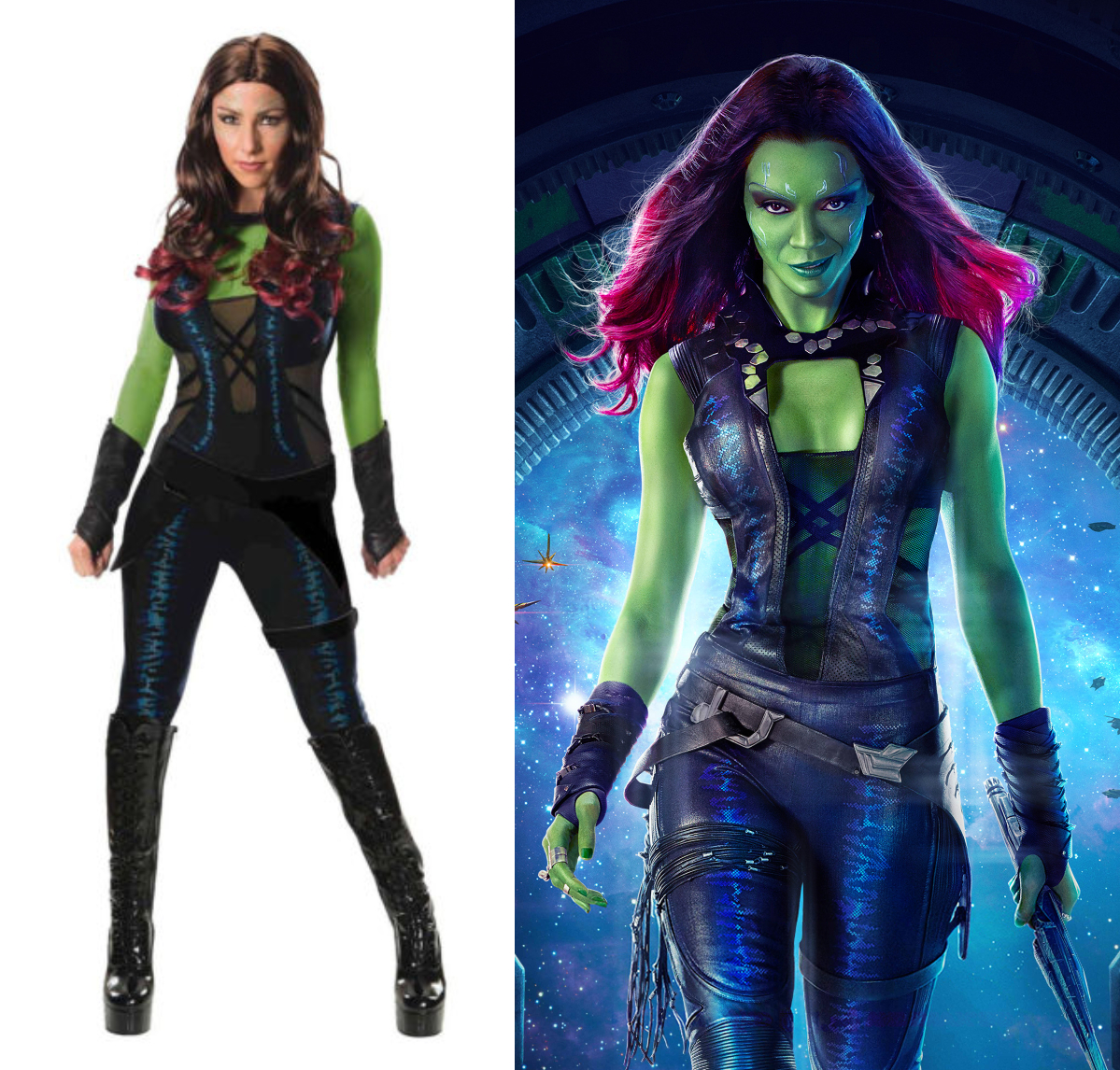 geek costume ideas for women | Gamora