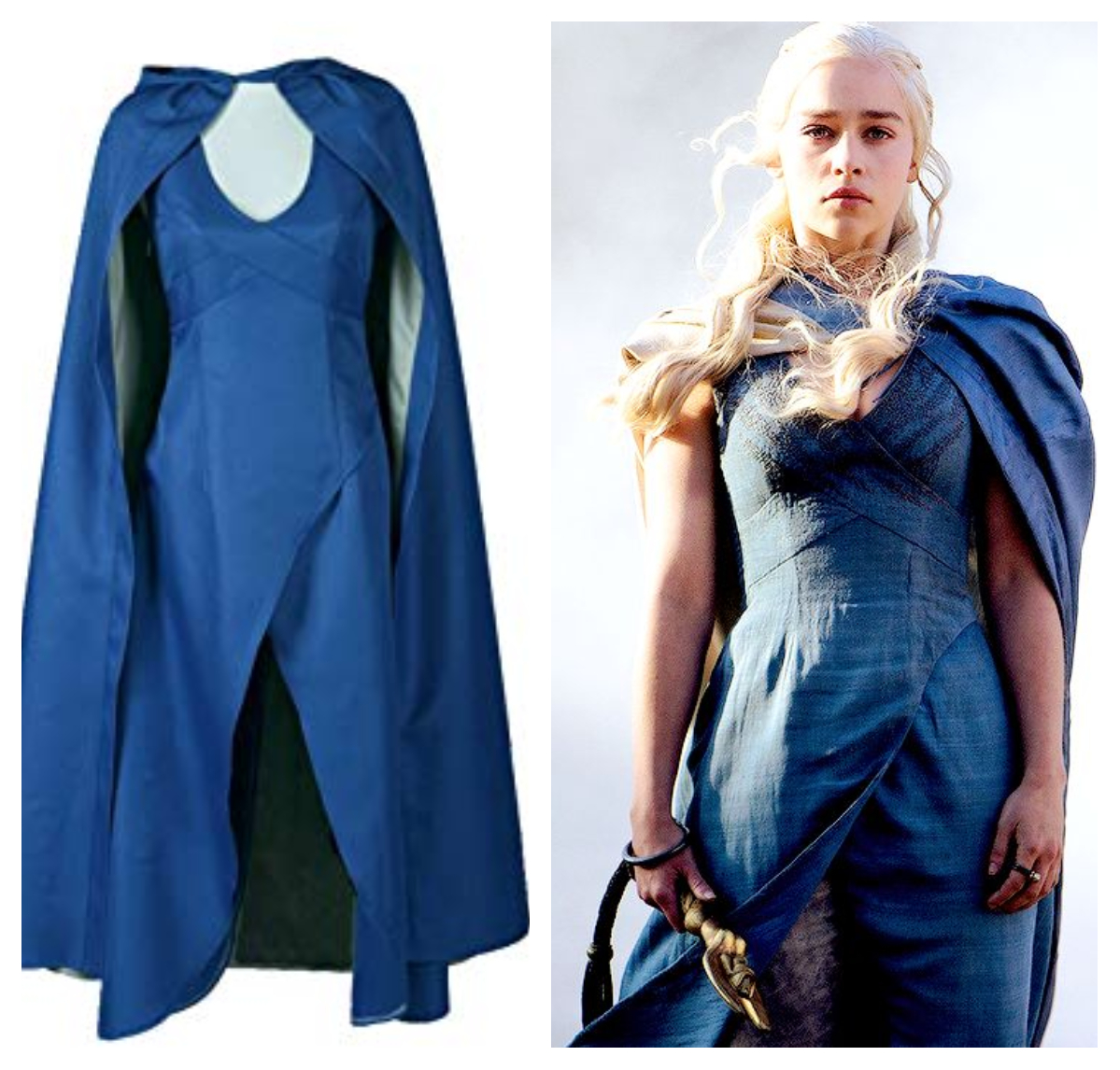 geek costume ideas Daenerys Targaryen dress and wig