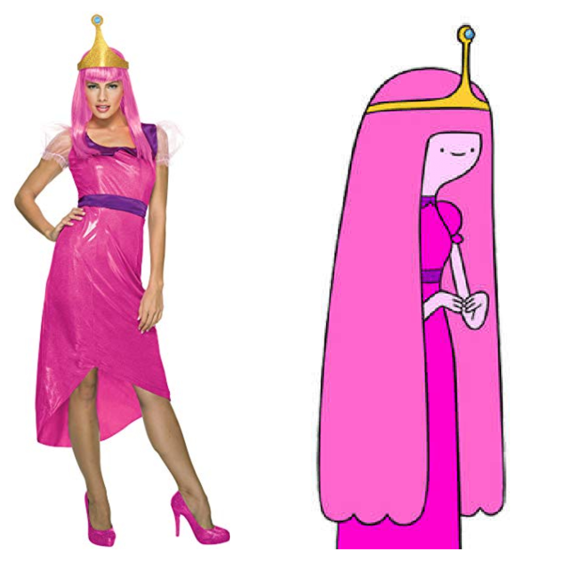 geek costume ideas Princess Bubblegum
