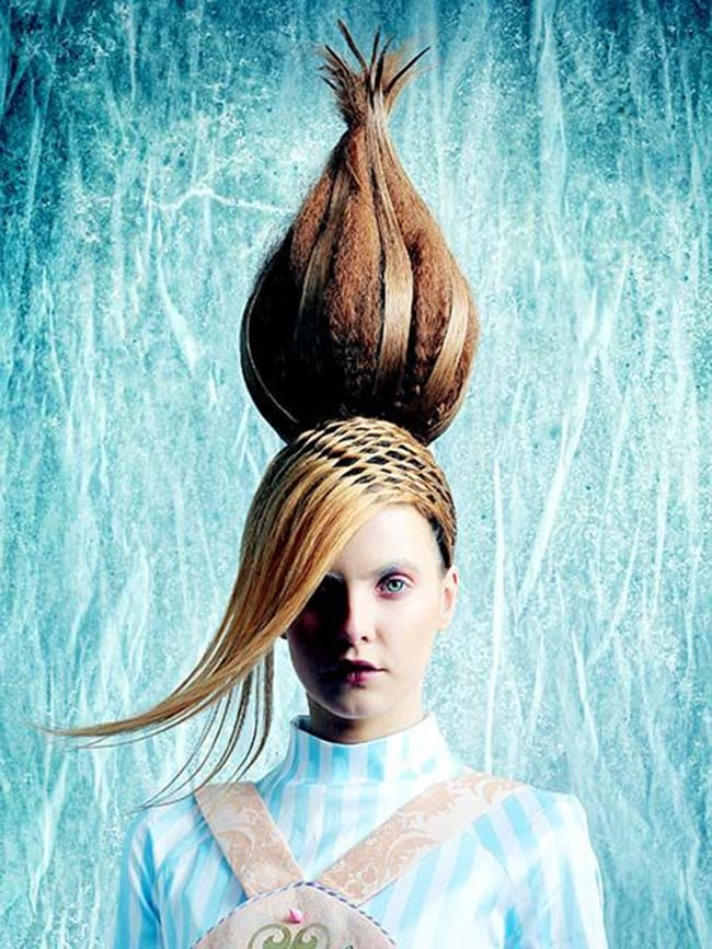 hair art for the catwalk