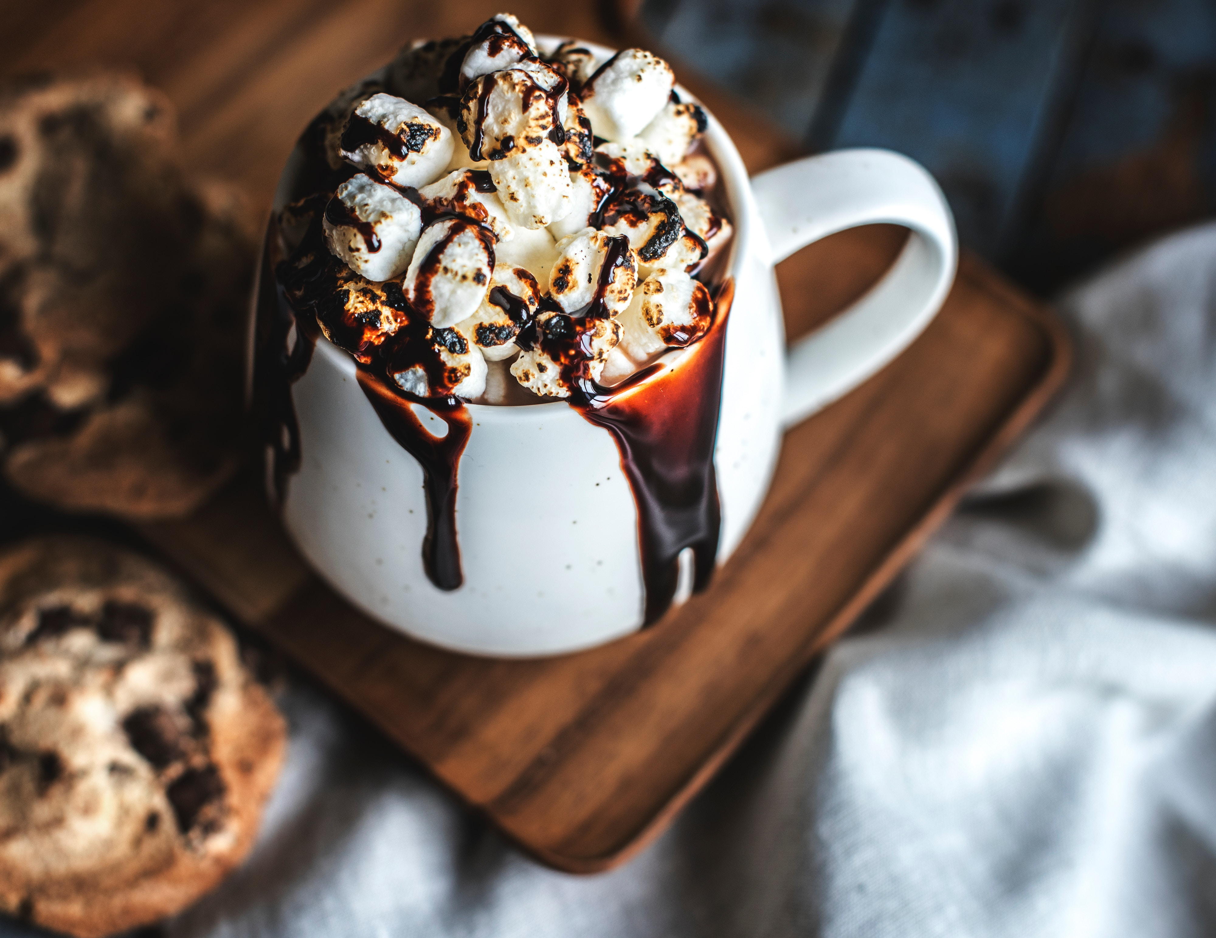 hot chocolate most unhealthy fast food