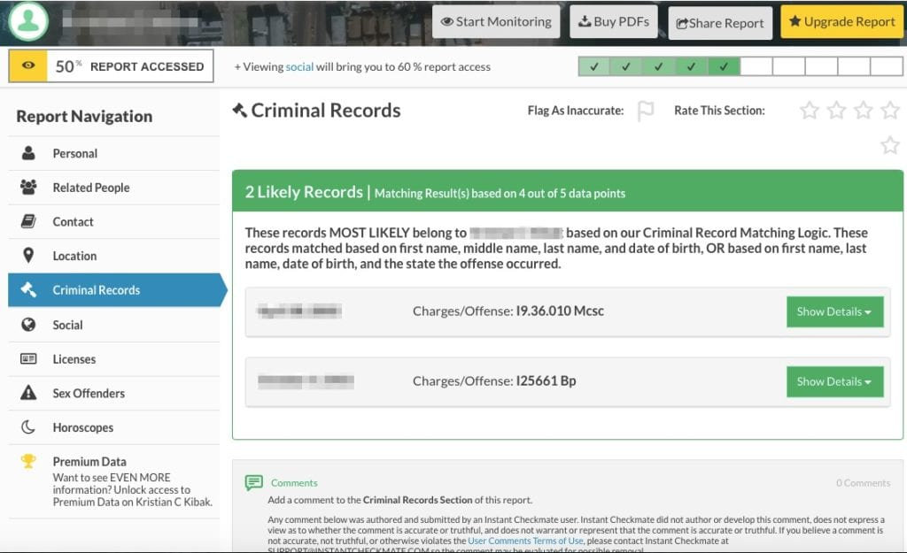 Instant Checkmate Cost >> Instant Checkmate Review Best Background Check Websites Top 5