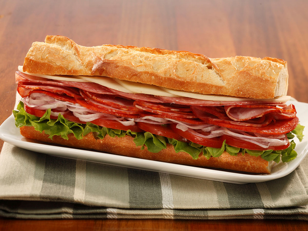 italian sub most unhealthy fast food