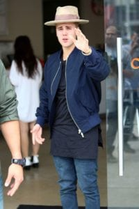 justin bieber outfits hat