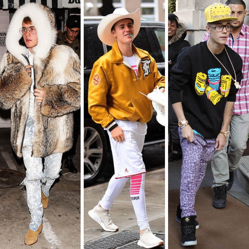 Justin Bieber Outfits Even Those with Bieber Fever Are Questioning