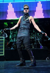 justin bieber outfits leather