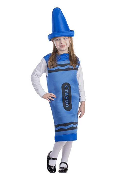 kids costumes blue crayon