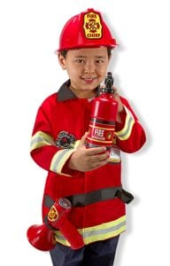 kids costumes firefighter