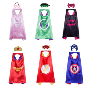 kids costumes superheroes capes