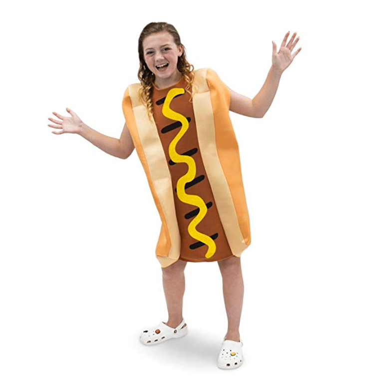 kids costumes hot dog